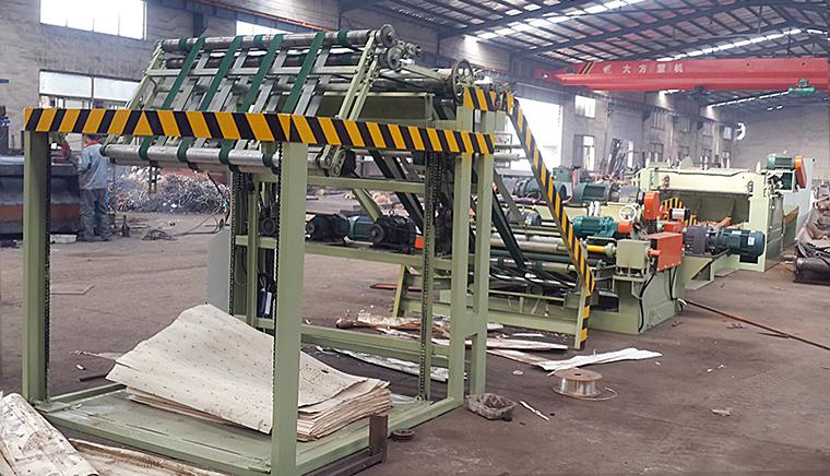 Tianhe 4ft and 8ft wood veneer peeling machine/spindleless veneer peeling machine