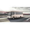 Shenzhen new energy EV car / e vehicles: electric bus with 10-21 seats, 7.5m long, sale in Europe & North America