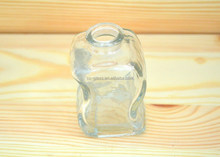 60ml Clear glass perfume bottles with soft cork stopper