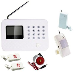 2015 New Products LCD Display Smart GSM 2G/3G Network Home/Office Burglar Alarm System