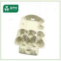 High quality paper pulp egg box, eco-friendly chicken eggs packing tray