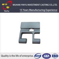 Customized Precision Silica Sol Lost Wax Investment Casting Lock Parts