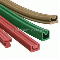 water proof silicone rubber water stop strip factory manufacturer sliding door seal, counter top edging strip rubber strip