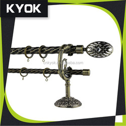 foshan factory supplier good quality curtain rods with excellent curtain accessories
