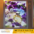 Snap aberto ultrafino único lado 15 mm alumínio LED caixa leve magro para publicidade