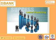 ( Bk02-0001 ) trabalhistas serviços de trabalho despacho / trabalho em equipe solução / recursos humanos