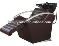 Electric shampoo chair with auto footrest and massage function SC0142