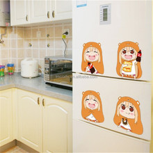 removable wall sticker for bedroom decorations wall stickers for kids rooms cartoons characters Funny Wall Stickers MJ7021