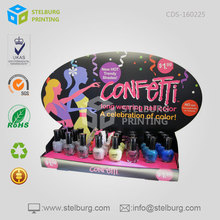 Retail Store Counter Top Displays Rack For Beauty Sale