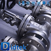 Didtek European Quality Oil Industrial gate valves gear operated