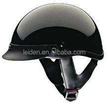 MANUFACTURE BLACK HALF FACE HELMET motorcycle harley TN8689