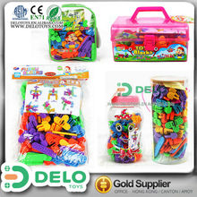 1 dollar store items promotion toy plastic gears for toys self-assemble kit DE0028085