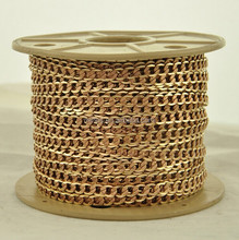 Free Nickel Brass Chain with Strip ,Curb Brass Chain, CustomSize Available Brass Chain