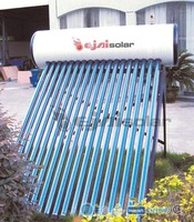 200 Liter Passive Stainless Steel Solar Water Heater Attached Food Class Tank Evacuated Tubes