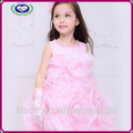 flor menina vestido de princesa crianças trajes de dança com pérola