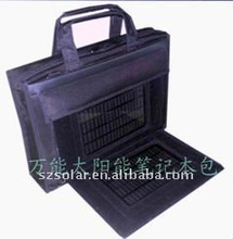 Solar Laptop Battery Bag With Solar Laptop Charger