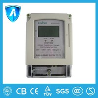Electric energy Meter KWH single phase ic card prepaid electric meter