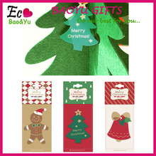 Factory wholesale christmas paper air freshener for promotional