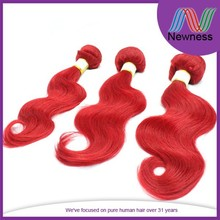 3 bundles red brazilian hair weave extensions online sale and good quality names of hair extension