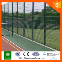 High quality Double Wire Sports Court Fencing with TUV certificate