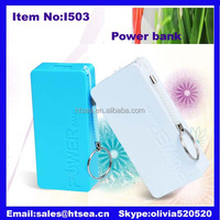 multi colour fashional portable power bank 6000
