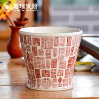 New Design unglazed Ceramic flower pots stands designs
