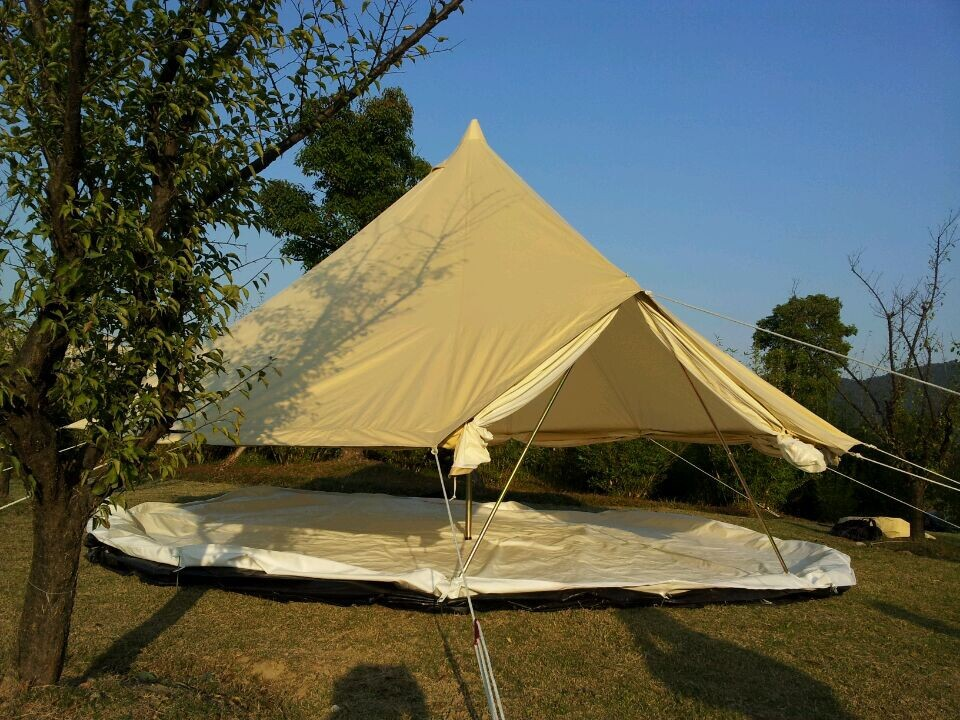 Outdoor canvas bell tent for sale canvas safari tents for Cheap wall tents for sale