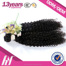 China Based Manufacturer Jerry Curl Weave Human Hair