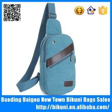 Cool Blank Canvas Sling Crossbody Shoulder Bag Backpack Chest Bag
