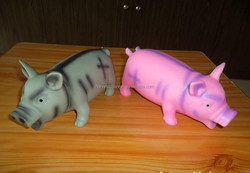 big size 20cm funny bellow the pig