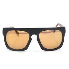 Yellow Film Plating Acetate UV 400 Sunglasses