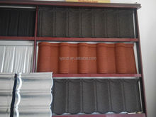 2015zinc roof tiles light building material sheet metal roofing stone roof tile Nosen type
