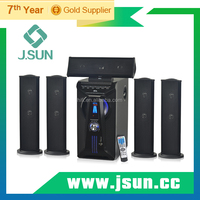 Hot Sell 5.1 Surround Speaker System Sound with USB SD MIC FM radio
