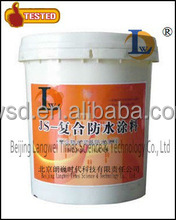 Polymer modified cement waterproof coating/ JS waterproof coatings/super hydrophobic paint