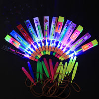 Hottest Sales Christmas LED Arrow Magic Helicopter Toy