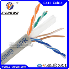 4 Pairs CM/CMR/CMP 0.55MM/ 0.56MM Cat6 HS Code For Cable