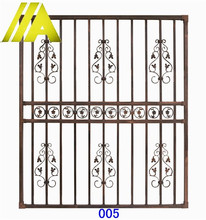SW-005 Decorative Wrought Iron Window Grill Design made in china