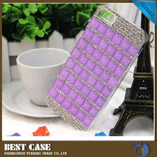 Luxury diamond bling bling design back cover for iphone 6 case