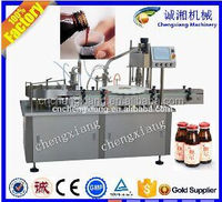 Siemens PLC+Touch screen small bottle filling and capping machine