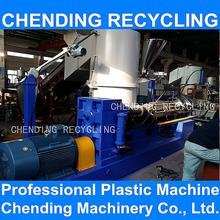 CHENDING waste plastics pe pp pet new condition granulator