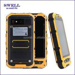 waterproof outdoor 4inch mobile phone MTK6572 dual core rugged smartphone big battery NFC FM WIFI dual sim XJD A8