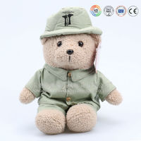 Custom plush T-shirt teddy bear & plush stuffed sitting teddy bear