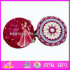 Hot sale high quality wooden hand drum,Chinese traditional toy hand drum,musical education hand drum WJ278436
