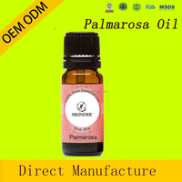 palmarosa massage oil 100% pure and natural essential oil for aromatherapy oils therapeutic grade in guangzhou private label