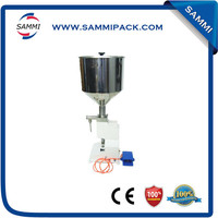 high accuracy easy operated manual thick liquid filling machine