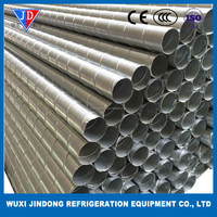 Galvanized steel air conditioner duct, ventilation fittings spiral air duct, flexiable air duct