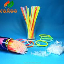 Top sale 100pcs/lot Multi Color Glow Stick Party Light Bracelets Glowsticks light stick Fantastic