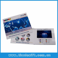 7 inch video player in print/ Recorable advertising video card
