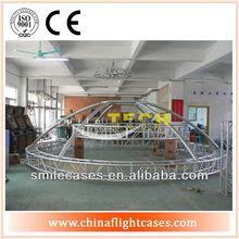 Exposición truss, truss de iluminación, utiliza armadura de aluminio para la venta