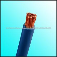 competitivo de cobre conductor de pvc del aislamiento eléctrico flexible cable de alimentación de alta calidad